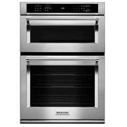 Best Electric Cooktops Kitchenaid Koce500ess 30 Quot Combination Wall Oven Microwave