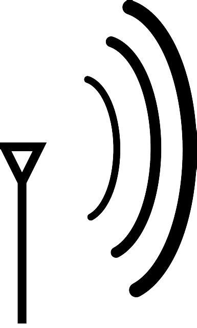 antenna wireless signal  vector graphic  pixabay