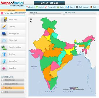 Editable Maps Editable Map Of India