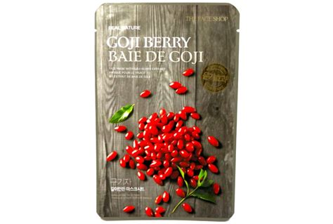 The Shop Real Nature Mask New Design X 12 Ea the shop real nature goji berry mask review