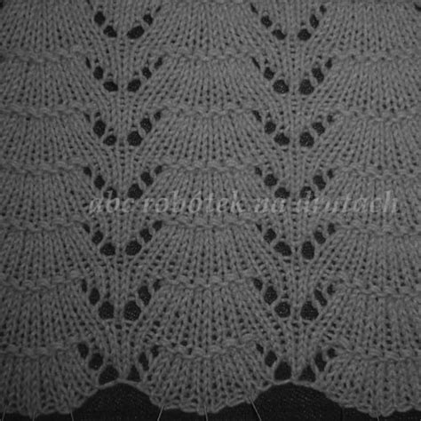 knitting info ru lace knitting stitch of the month august 2016 42