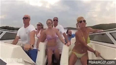 boat crash turn down for what turn down for what fail bikini girls boat crash remix