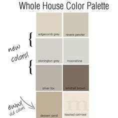 whole house color palette 2017 revere pewter favorite color palette pewter revere