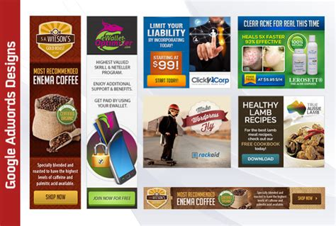 design google banner ads design google adwords banners high converting profe