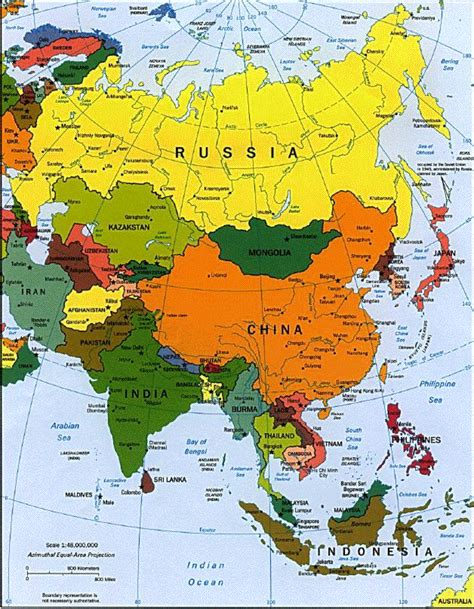 location of asia in world map asiasection4 china geography