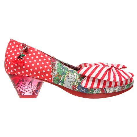 are irregular choice shoes comfortable irregular choice trinkletina low red floral polka dot