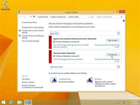 windows 8 defender turn on how to turn on windows defender in windows 8 1