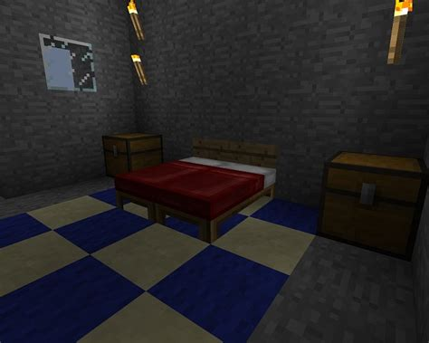 minecraft bedroom set modern home minecraft size minecraft project