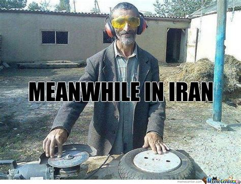 meanwhile in iran by lygatt meme center