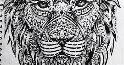 lion zentangle sketches pinterest zentangle tattoo