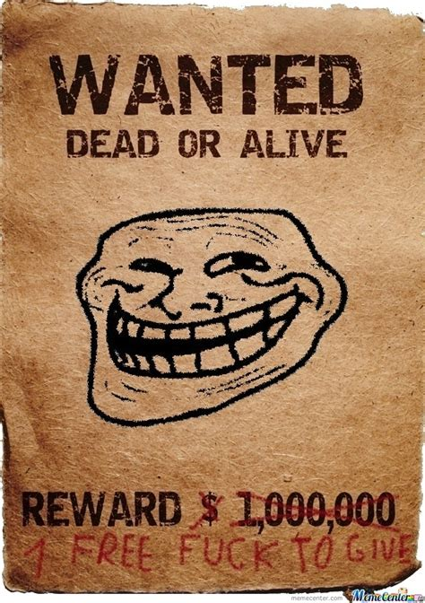Meme Poster - wanted poster by snackslp meme center
