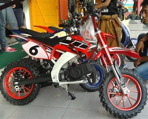 Motor Trail Mini Se 50cc Gazgas motor mini trail 50cc sayang anak jual motor jaket sumedang