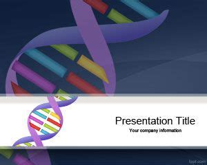Free Genetics Dna Sequencing Powerpoint Template Is A Free Bioinformatics Ppt Templates Free