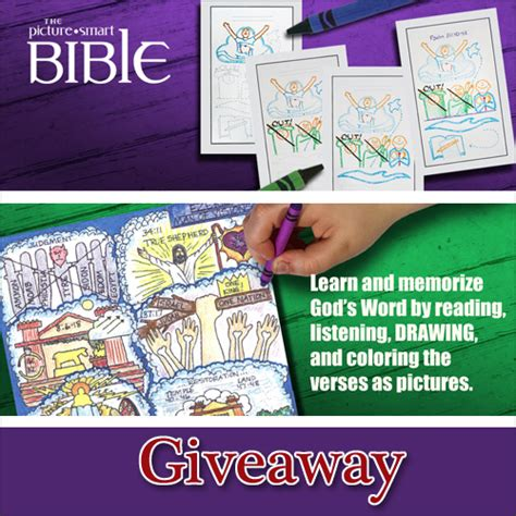 Bible Giveaway - the picture smart bible giveaway