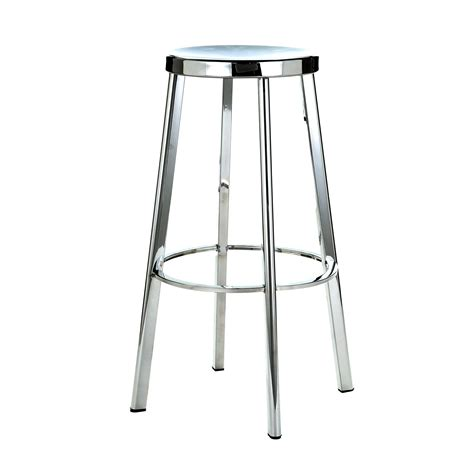 Brushed Stainless Steel Counter Stools by Polished Brushed Stainless Steel Sassy 45cm Stools Bar