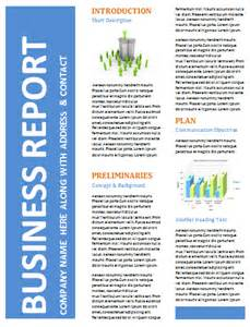business report template 5 professional report templates office templates
