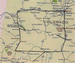railroad map of colorado railroads in colorado map images