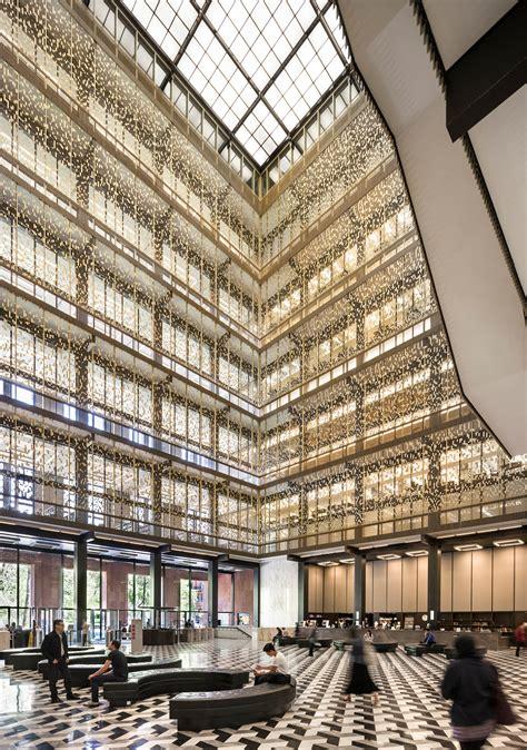 nyu library nyu bobst library joel sanders architect
