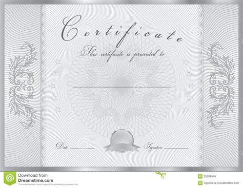 Certificate Diploma Award Template Pattern Royalty Free Stock Image Image 35508946 Watermark Template