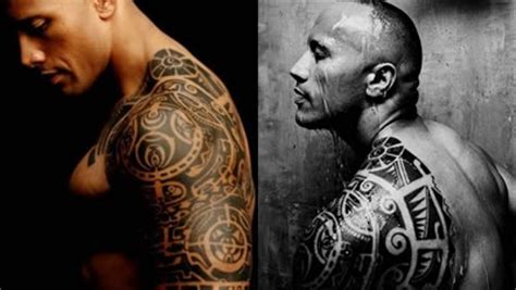 dwayne johnson real tattoo the rock tattoos the sport and football report