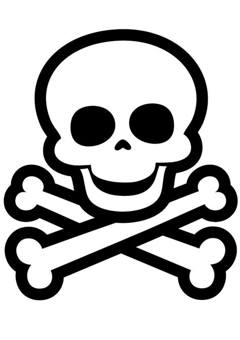 skull and bones coloring pages landmarks of the skull