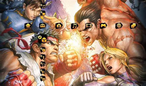 psp themes tekken 6 ps3 wallpapers and themes wallpaper cave