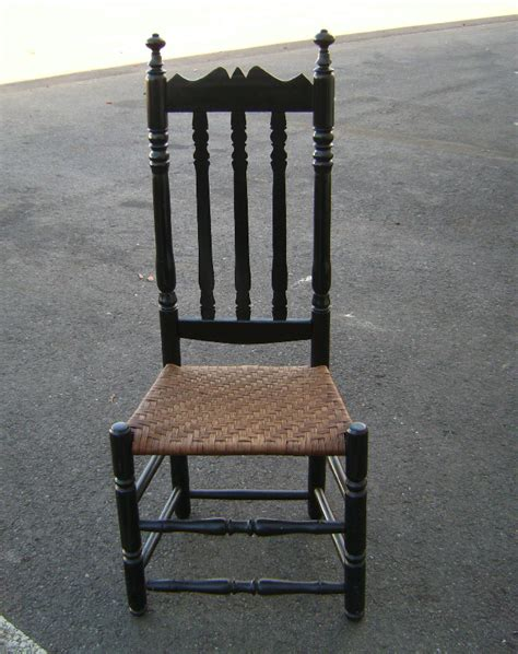 antique banister antique banister american colonial bannister back side chair c1740 for sale antiques