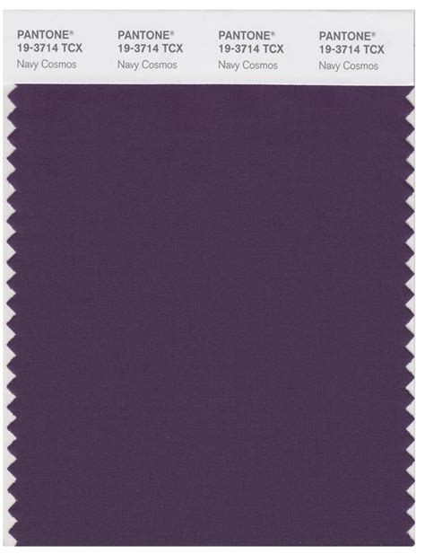 pantone smart   tcx color swatch card navy cosmos