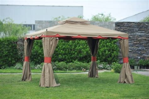 gazebo with netting and curtains gazebo curtains check out benson gazebo 10x12 with