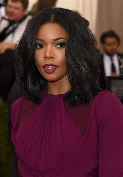 how many inches is gabrielle union weave gabrielle union red carpet review the 2015 met gala