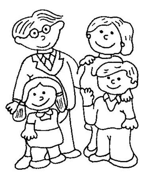 imagenes de la familia para colorear e imprimir dibujos de la familia para colorear