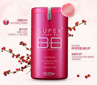 Skin79 Plus Function Bb skin79 plus beblesh balm functions whitening uv protection spf25 pa pink