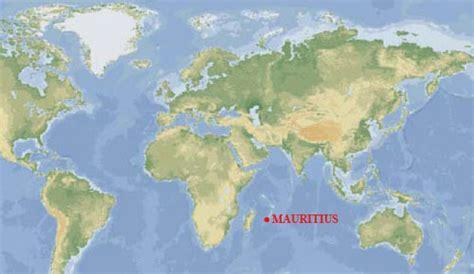 mauritius on a world map mauritius resa