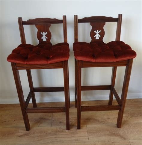 very tall bar stools antiques atlas tall mahogany bar stools