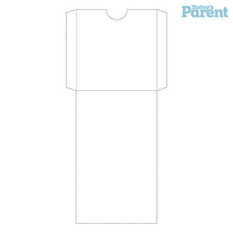 printable pocket envelope template advent calendar printable today s parent