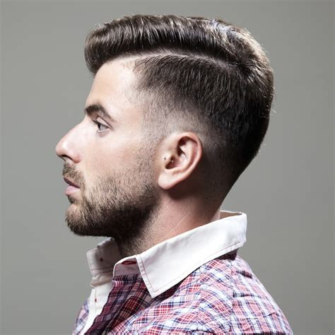 hair cut shavef sides popular men s haircuts shaved sides