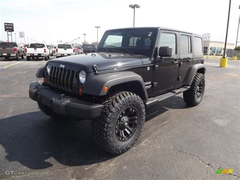 Jeep Wrangler Black 2013 2013 Black Jeep Wrangler Unlimited Sport 4x4 71275232