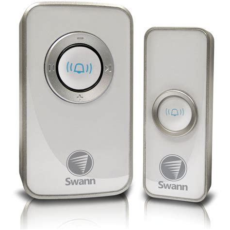 Wireless Door Chime by Swann Wireless Door Chime With Mains Power Swhom Dc820p Us B H