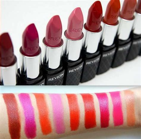Lipstik Cair Revlon Terbaru 15 must lipstick swatches from revlon lustrous