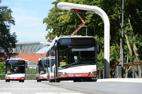 hamburg launches interopeable  bus charging stations