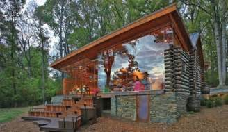 The Handmade Home - decorating a log cabin