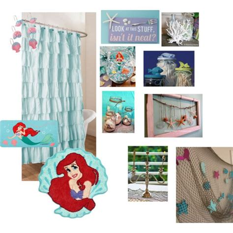 little mermaid home decor little mermaid bathroom by jessiiiface on polyvore