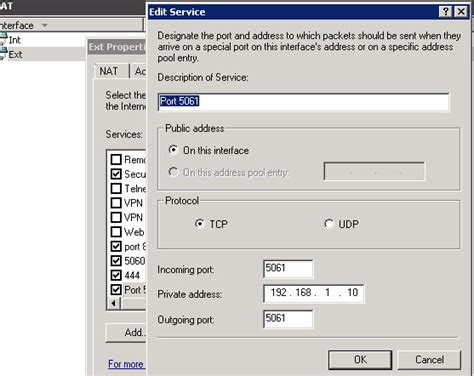 tutorial nat windows server 2008 not able to port forward nat 2008 server