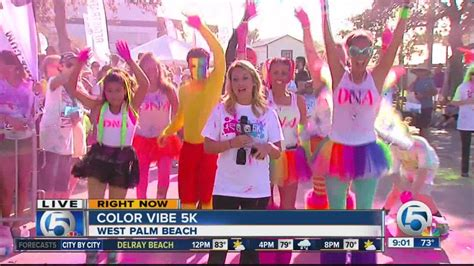5k color vibe color vibe 5k walk in west palm