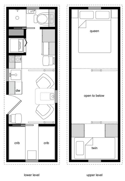 33 Best Images About Tiny Getaway On Pinterest Tiny Tiny House Plans For Family Of 8