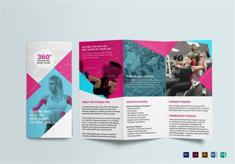 19 best gym brochure templates download documents in psd