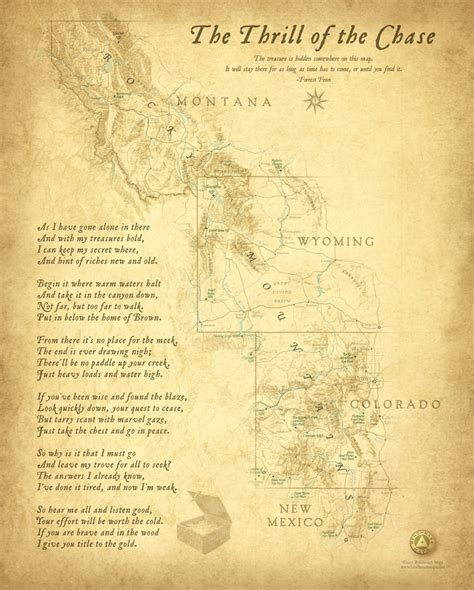 forrest fenn treasure map thrill of the wall map benchmark maps