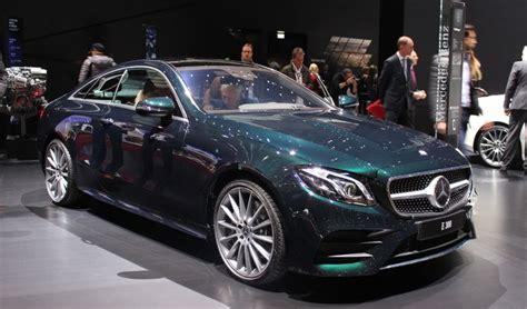 Mercedes Classe E coupé : suite dans les idées Vidéo en direct du salon de Genève 2017