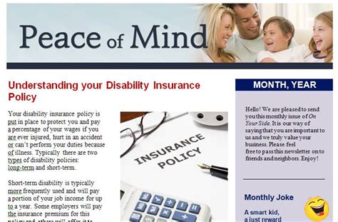 Insurance Agent Newsletter Template Agency Business Customizable 2 4 20 Pages Insurance Newsletter Templates