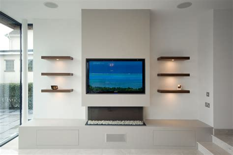 media wall modern media wall harrogate inglish design bespoke